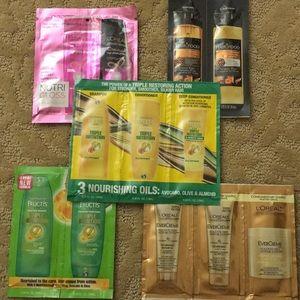Shampoo/Conditioner Sample Lot BONUS DeepCond Masq